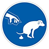 Gebotszeichen Hundekot entfernen Aluminium geprägt Original von König Werbeanlagen
