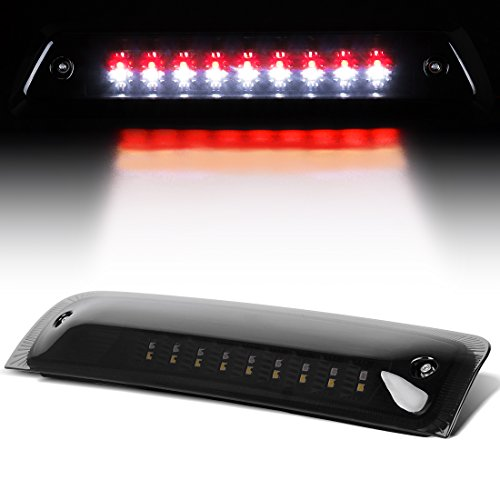 LED 3rd Brake Light Compatible with 2009-2018 Dodge Ram 1500 2500 3500 High Mount Trailer Cargo Lamp Smoked DWBL1008