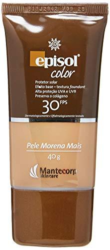 Protetor Solar Color Pele Morena Mais FPS 30, 40g, Episol