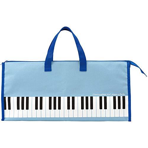 【送料込み価格】鍵盤ハーモニカ 32鍵盤用 ソフトケース ブルー (ピアニカ・ピアニー・メロディオン・メロディカ・メロディーピアノ) など