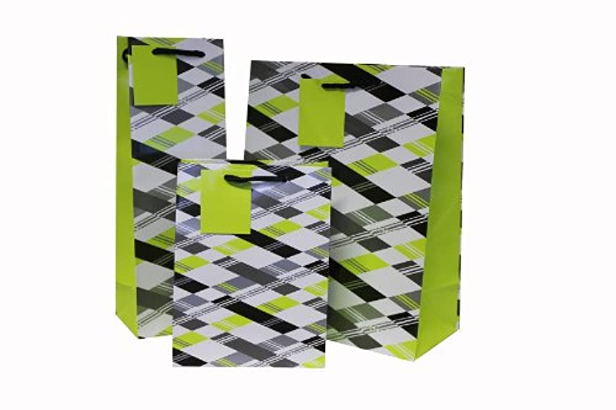 Z?wie City Graffiti Gift Carrier Bags, 3-He Set