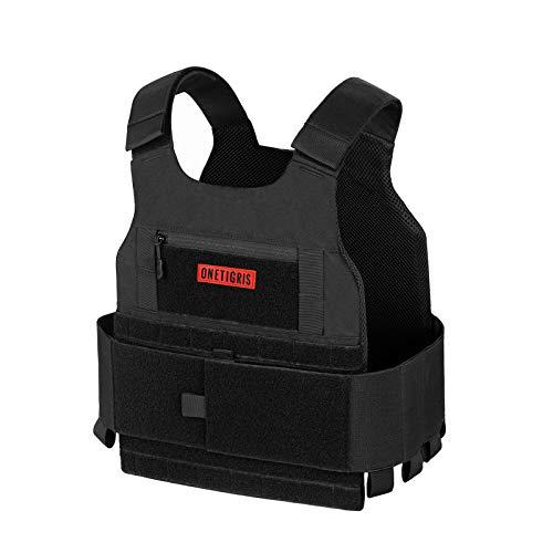 OneTigris Low Profile Tactical Vest (Black)