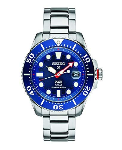 Seiko SNE549 Prospex Men's Watch Silver-Tone 43.5mm Stainless Steel