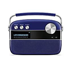 Saregama Carvaan Premium- Portable Music Player with 5000 Preloaded Songs, FM/BT/AUX  (Royal Blue),Wyn World Int'l Limited,SC230,SAREGAMA bluetooth speaker,SAREGAMA speaker,portable speakers,speakerbluetooth speaker,speakers,speakers bluetooth