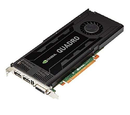 PNY Quadro K4000 Kepler Grafikkarte (3 GB, GDDR5, PCIe 2.0, VCQK4000 PB -) + DVI-Adapter (M)/HDMI (AD00027 R1 -) (W) (überholt)