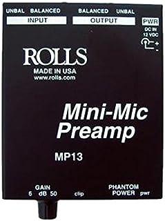 Rolls Mini Single Ch Mic Preamp (MP13