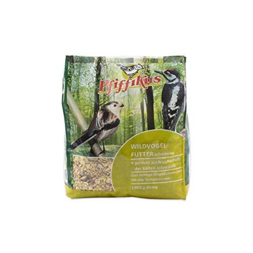 Pfiffikus Wildvogelfutter Pfif. Wildvogel. schalenlos 1kg