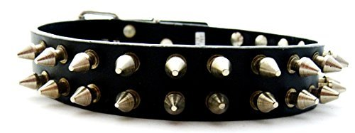 Evil Wear Rivets Collier 2 Rangs killernieten env. 1,4 cm Style Gothique, Punk 4–3 u