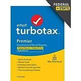 TurboTax Premier 2020 Desktop Tax Software, Federal and...