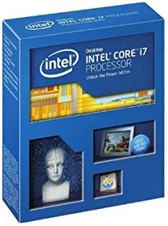 Intel Core i7 4930K Extreme Hex Core CPU Retail (Socket 2011, 3.40 GHz, 12 MB, 130 W, tecnología Hyper-Threading, virtualización para E/S dirigida) (reacondicionado)