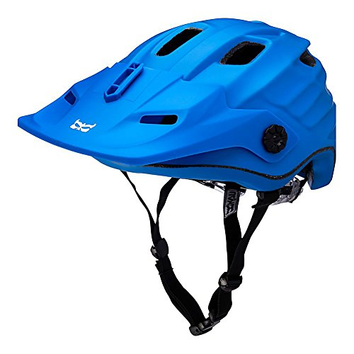 Kali Protectives Maya Enduro Accessory Mount Helmet Duo Matte Blue/White, L/XL