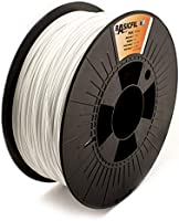 BASICFIL PLA 1.75mm, 1 kg filamento de impresión 3D, Señal blanca