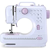 P & I Home Multi-Function 505A Mini Sewing Machine with Built-in 12 Floral Stitches