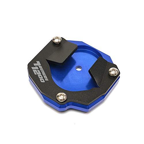 Per YAMAHA SUPER TENERE XT 1200 ZE XT1200ZE 2014-2020 Cavalletto Per Moto Cavalletto Laterale Prolunga Per Estensione Pad (Color : Blue, Size : Logo-TENERE1200)