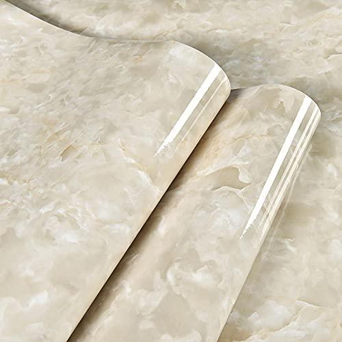 Yhgjhuie Autoadhesiva Pegatinas de Papel Fondo Pantalla Pintado Pegatina Impermeable Prueba de Aceite Para Decorar Muebles Cocina 0.4*10m