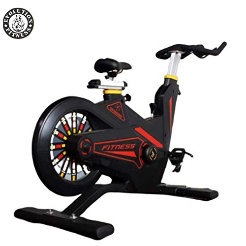 Evolution Fitness Commercial Magnetic Spin Bike Exercise Gym Cycle for Home Men Women Office etc