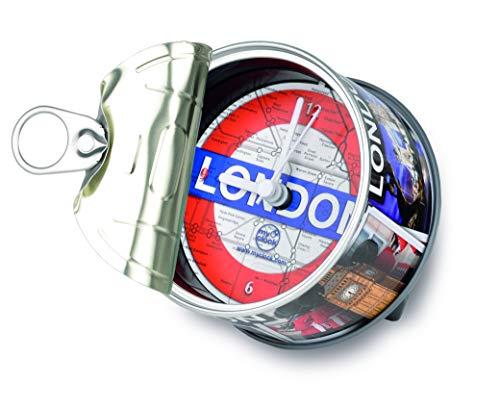 My Clock MyClock Horloge de table avec Aimant, My Clock personnalisable, Photo-cadeau, Cadre d'image, Souvenir, DIY Deco - London