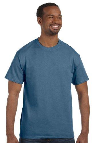 Hanes T-shirt pour homme Bleu denim Taille M Multicolore