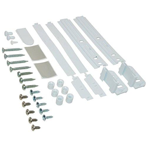 Spares2go Decor Deur Slider Fixing Kit voor IKEA Koelkast Vriezers