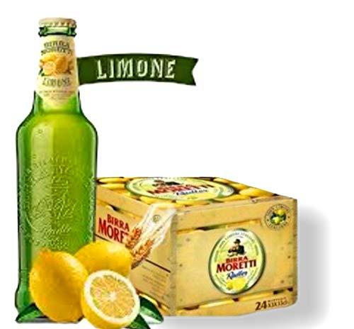 BIRRA MORETTI Sommer Radler Zitrone CL.33 X 24 Flaschen Bier 2% Alc. Cerveza