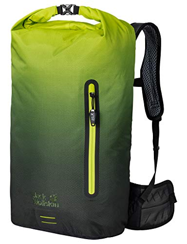 Jack Wolfskin Halo 26 Pack Fahrrad Wander Rucksack, Aurora Lime, ONE Size