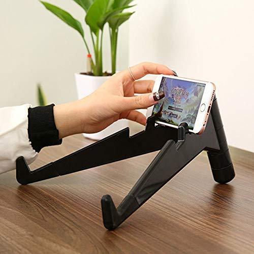 Qazxsw Tragbarer Laptop-Ständer mit einstellbarem Winkel, Halterung Klappbarer Notebook-Ständer Tablet-Pad-Halter Unterstützung Kühlständer Schreibtischhalterung