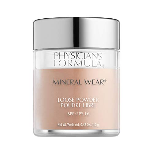 Physicians Formula Puder - Mineral Wear Loose Powder SPF 15 / Natürliches Mineralpuder, Translucent Light, 1 Stück, 12g