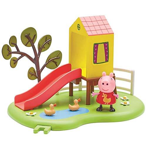 Peppa Pig Outdoor Tobogán | Conjunto Juguetes Figura Peppa