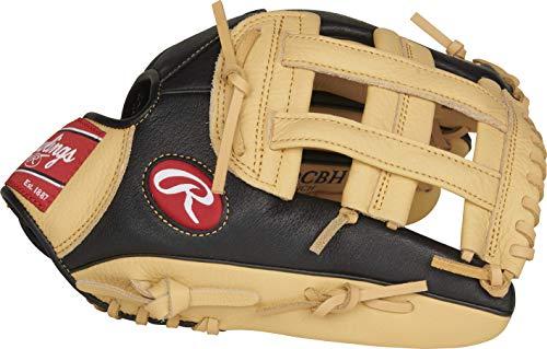 Rawlings Prodigy Series Baseball Glove, Pro H Web, 12 inch, Right Hand Throw