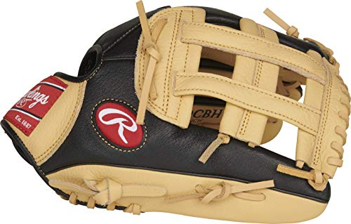 Rawlings Prodigy Series Baseball Glove, Pro H Web, 12 inch, Right Hand Throw