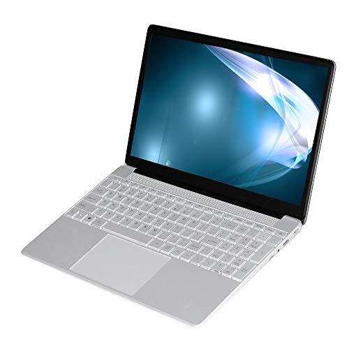 KUU A8S Laptop 15,6 Zoll, Inter Celeron J3455 Notebook PC, 6GB RAM 256GB SSD, Windows 10 Ultrabook PC mit USB 3.0 und RJ45, FHD-Bildschirm