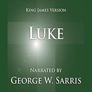 The Holy Bible - KJV: Luke cover art