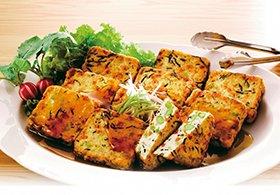 ひじきと野菜の豆腐揚げ 約40g×30個入 17183