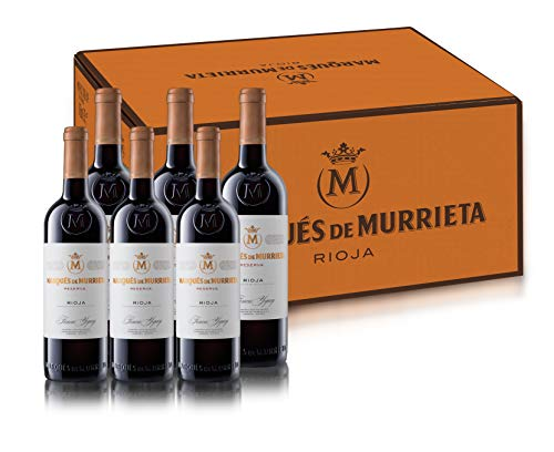 Marqués de Murrieta Reserva 2015 - Vino Tinto, 6 botellas x 0.75L