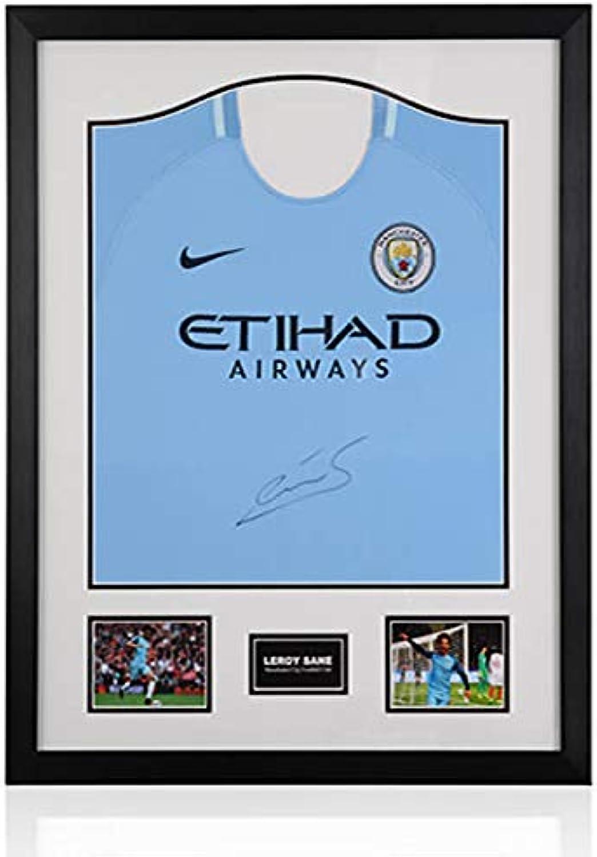 Generic Leroy Sane – Klassischer Rahmen – Manchester City Home Shirt.