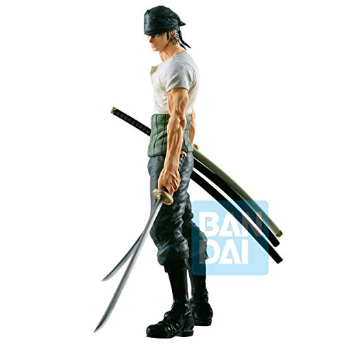 Banpresto One Piece Estatua Roronoa Zoro, Multicolor, Talla Única (BANP85105)