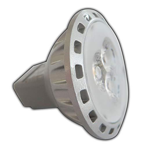 MR11 / GU4 LED 2,5 Watt 12V AC/DC warm wit spot 30° graden spaarlamp lamp spot 12V - 1 stuk