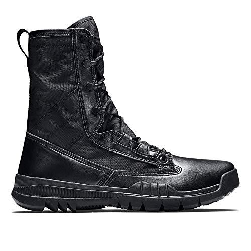 Nike Men's SFB Field 8' Special Tactic Boots-Black/Black-9