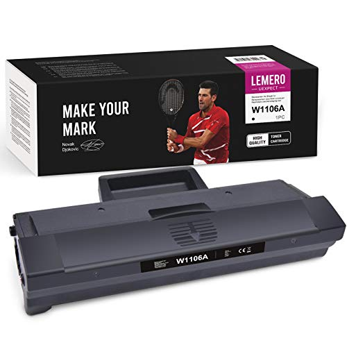 LEMERO UEXPECT 106A Toner (Mit chip) Kompatible für HP 106A W1106A Toner für HP Laser MFP 135wg 135a 135r 135w HP MFP 137fwg 137fnw HP 107w 107a 107r drucker
