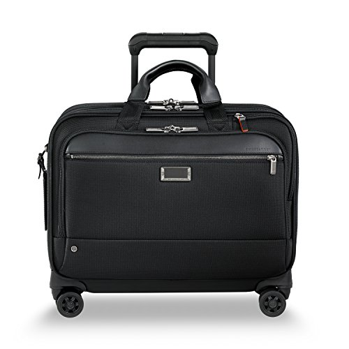 Briggs & Riley Work Large Spinner Briefcase, 44 cm, 22.7 L, Black