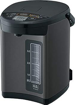 Zojirushi CD-NAC40BM Micom Water Boiler & Warmer Made in Japan 4.0-Liter Metallic Black