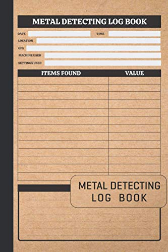 Compare Textbook Prices for Metal Detecting Log Book: Metal Detector Logbook for Detectorists, Relic Hunters and Earth Diggers   Keep Track of Your Gold, Silver and Other Metal ... Gift for Metal Detectorist and Coin Whisperer  ISBN 9798587920668 by Publication, Simply Creative