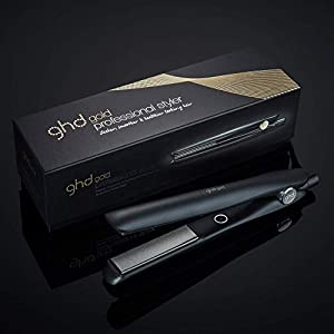ghd gold Styler, professionelles Glätteisen mit optimaler Stylingtemperatur, schwarz