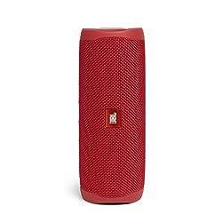 Emportez vos morceaux préférés partout : l'enceinte Bluetooth Flip 5 de JBL est compacte, robuste et offre plus de 12 heures de lecture non-stop - parfaitement équipé pour la prochaine aventure Avec un son incroyablement pur, l'enceinte JBL offre des...