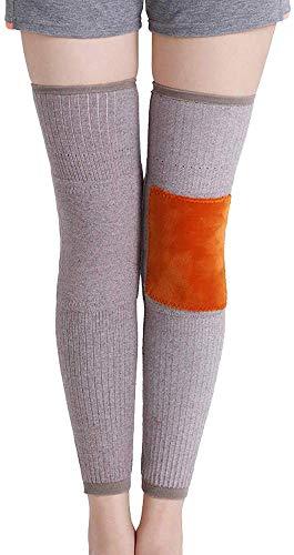 Wzmdd S, wol, kniestukken, warme dames, oude koude benen, verdikt, lange leggings, sokken, gewrichten, koud, ouderen