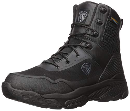 Skechers Men s Markan Military and Tactical Boot, Black, 10 W US
