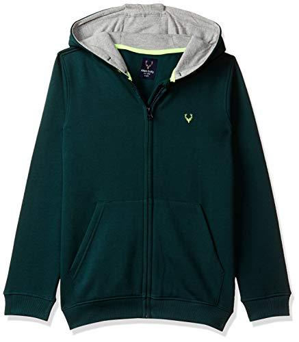 Allen Solly Junior Boy's Cotton Sweatshirt (ABSS31901812_Green_13-14 Years)