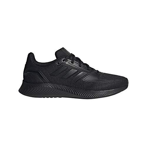 adidas Damen RUNFALCON 2.0 Laufschuhe, Schwarz (Negbás), 40 2/3 EU