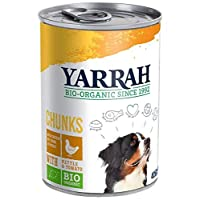 A complete and balanced food for adult dogs High-quality Organic ingredients: from certified organic sources Chunks of tender chicken: a great source of lean and easily digested animal protein Gently cooked: to retain its natural flavour, aroma and n...