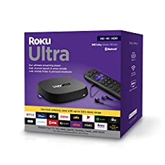 Share videos, photos, and music from your Apple device using AirPlay. Power & Performance: Roku Ultra is our fastest and most powerful player ever; loaded with a new and improved quad-core processor, you'll enjoy channels that launch in a snap and a ...